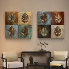 Living Room Canvas Paintings Aliexpresscom Buy 2017 Canvas Painting 2panels The Leaves
