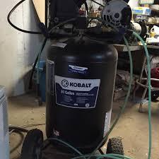 kobalt 30 gallon air compressor. 30 gallon kobalt air compressor - single stage o