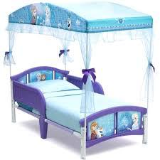 Little Girl Canopy Bed Frozen Girls Toddler Princess Furniture ...