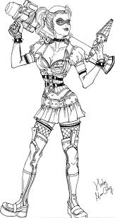 20 mortal kombat coloring pages printable. Get This Harley Quinn Coloring Pages Online 2grt