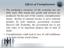 Unemployment Effect On Economy Magdalene Project Org