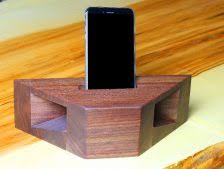 how to build a wooden phone lifier and charging station
