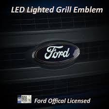 Light Up Car Emblems Truck Emblems 2004 2014 Ford F 150 9 Front Light Up Grille