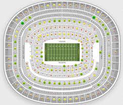 Fedex Field Landover Md Seating Chart Dallas Cowboys Face Washington Redskins In Week 12 Rivalry Tba