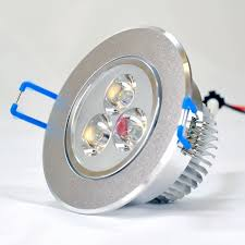 3 watt round led downlight ceiling light 35w 50w halogen