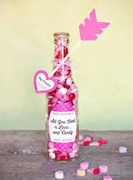 diy valentines day gifts for him valentine candy bottles cool and easy things to