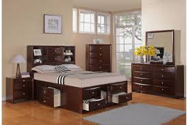 image modern bedroom furniture sets mahogany. Full Size Brown Varnished Mahogany Wood Captains Bed Frame Which Furnished With Display Shelves Headboard To Image Modern Bedroom Furniture Sets