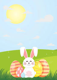 Easter Template Easter Flyer Blank Template Background By The Quiet Mind Tpt
