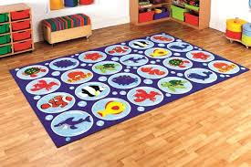 under the sea rectangular placement carpet