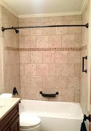 ceramic tile bathtub bathtub tile surround beige with oil rubbed bronze fixtures tub installation bathtub tile