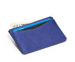 credit blue brown gilbano leather credit card case leather wallet westbourne blue