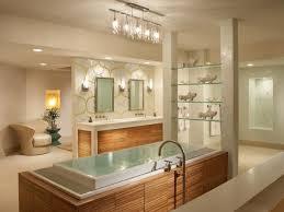 rustic bathroom light fixtures chrome metal faucet oval white ceramic bathtub white pedestal sink square pink soften cushion beige mosaic tiled walpapper
