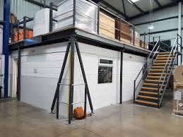 mezzanine office space. Mezzanine Floor For National Flexibles Bradford, West Yorkshire Office Space