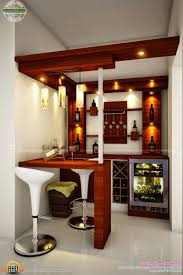 D Home Mini Bar Counter Design Interior Ideas
