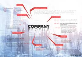 Company Overview Templates Company Overview Informative Layout Buy This Stock Template