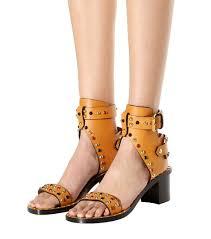 isabel marant jaeryn embellished leather sandals brown women isabel marant boots barneys unique design