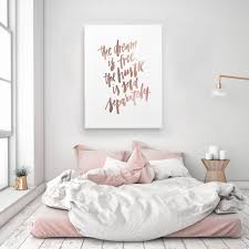 the dream is free the hustle sold separately motivation handlettered calligraphic rose gold quote poster prints printable wall decor art on rose gold wall art quotes with the dream is free the hustle sold separately motivation handlettered