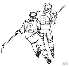 Small Picture Hockey Player coloring page Free Printable Coloring Pages
