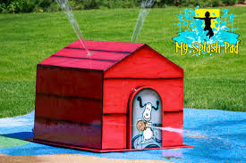 dog house water park feature by my splash