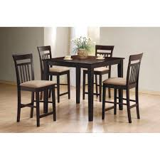 mix match piece counter height dining set round table x large size