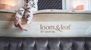 loom and leaf logo. pros and cons of loom leaf mattress logo