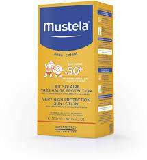 Mustela <b>Солнцезащитное молочко</b> с очень высокой степенью ...