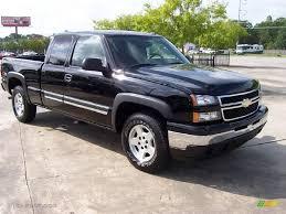 2006 Black Chevrolet Silverado 1500 Z71 Extended Cab 4x4 #14060674 ...