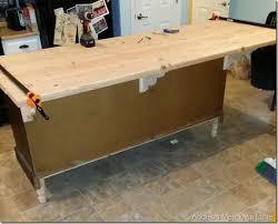 diy kitchen island from dresser. DIY Wood Countertop. Dresser To A Kitchen Island The Chronicles: Part 3 · Addison Meadows Lane Diy From