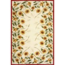 sunflower pattern outdoor frontgate rugs for patio flooring ideas square indoor rug front door mats bathroom and kitchen carpet runner area phoenix ou floor