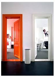 door frame painting ideas. Interesting Painting In Lieu Of An Accent Wall Why Not Orange Door Frame For Door Frame Painting Ideas W