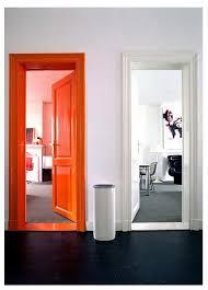 door frame painting ideas. Wonderful Ideas In Lieu Of An Accent Wall Why Not Orange Door Frame Door Frame Painting Ideas