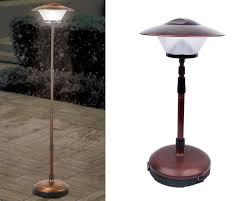 cordless telescoping patio lamp