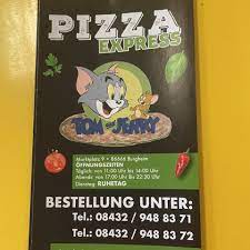Tom And Jerry Pizza Express - Startseite - Burgheim - Speisekarte, Preise,  Restaurant-Bewertungen