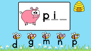 This phonics bundle set focuses on ending sounds. Busy Bees Cvcs Game Beginning Medial Ending Sounds Phonics Practice Youtube
