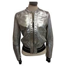 womens patrizia pepe leather jacket for turning rehza61378 designer uk