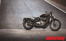 new triumph bonneville bobber launched in india at rs 9 09 lakh