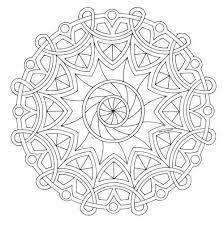 Mandala Disegno Da Colorare Gratis 20 Difficile Complesso Mandala