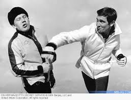 Image result for james bond fighting george lazenby