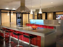 Stainless Steel Kitchen Stainless Steel Countertops Pictures Ideas From Hgtv Hgtv