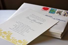 the printing process digital printing Wedding Invitations Fast And Cheap yellow floral wedding invitation vintage stamps Printable Wedding Invitations