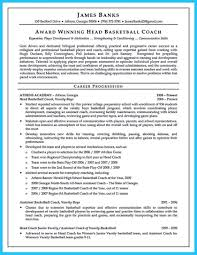Assistant Basketball Coach Sample Resume Highchool Basketball Coach Resume Nice Looking Proample Job 13