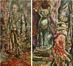 the best dorian gray painting ideas exterior  ivan albright s the picture of dorian gray wouldn t want this in my