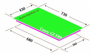 Bếp Điện Từ Canzy CZ E89 – Made In Malaysia – Bếp Nam Phát