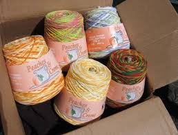 Peaches And Cream Yarn Color Chart Like Using Lots Of Different Cotton Yarns For Dishcloths