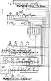 vw wiring diagram mg td replica wiring diagram for you • wiring harness detailed fiberfab migi wiring diagram by numbers rh mgmagicclassicmotorparts com train horn wiring diagram 1979 mg mgb wiring diagram