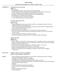 Trade Resume Examples Trade Finance Resume Samples Velvet Jobs 21