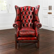 chesterfield armchair leather paxton