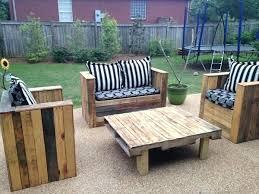 wood pallet lawn furniture. Unique Pallet Pallet Patio Set On Wood Pallet Lawn Furniture L