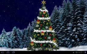 Christmas Tree Live Wallpaper- screenshot