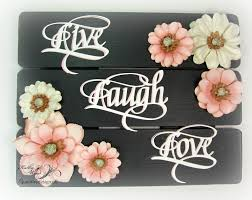 Upcycled Wall Art Quietfire Creations Live Laugh Love Upcycled Wall Art